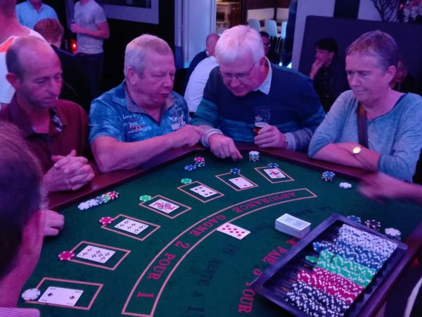 Casino avond feest